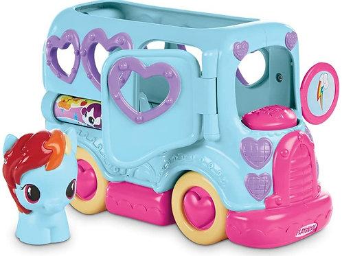 Hasbro My Little Pony Rainbow Dash Friendship Bus Playskool B1912