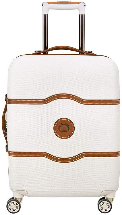 Delsey Paris Chatelet Air Bagaglio a Mano 55 cm Bianco