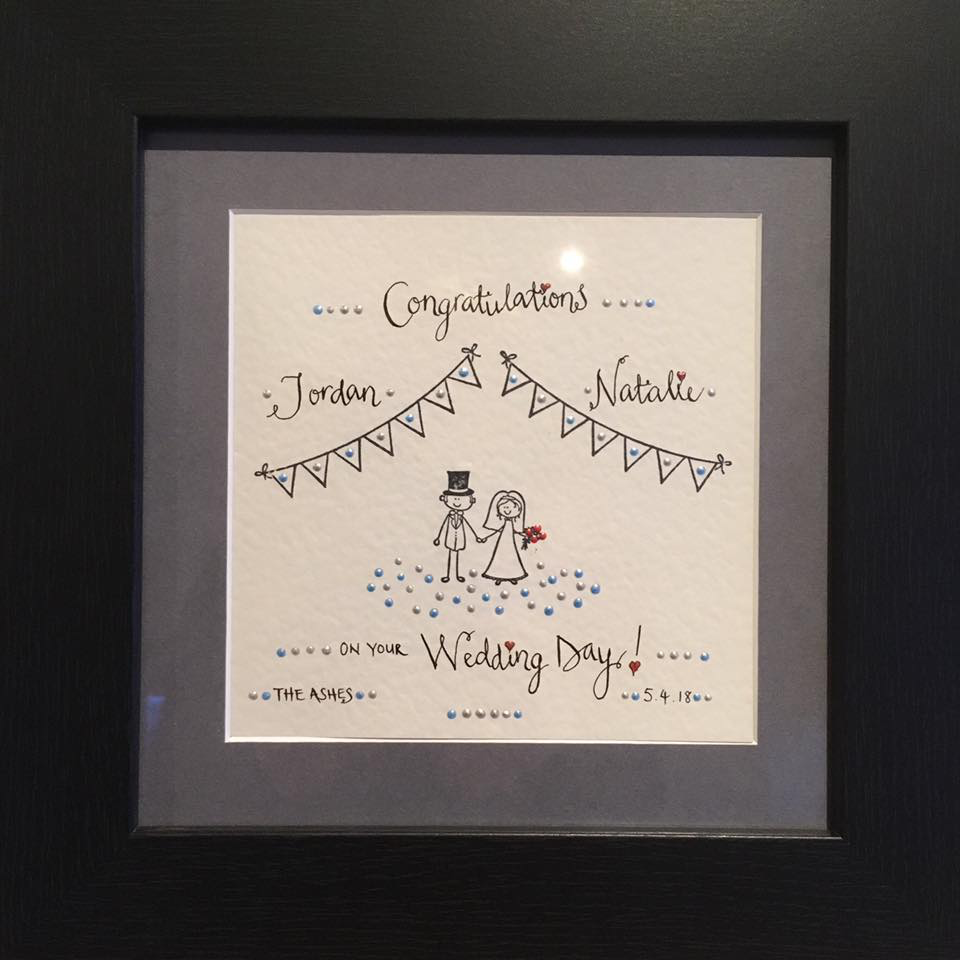 Congratulations Mr and Mrs Clarke