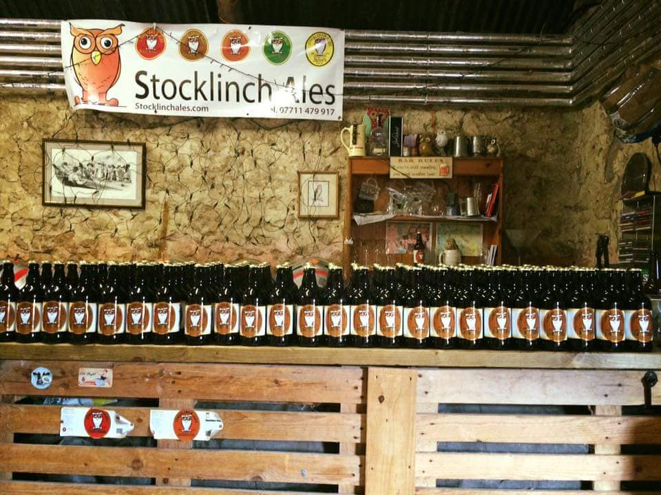 Stocklinch Ales - it doesn't get any more local!
