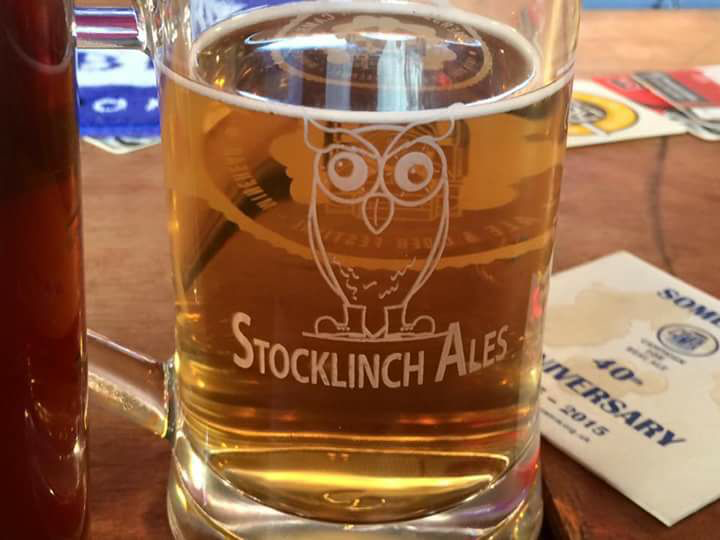Pint & pizza at Stocklinch Ales