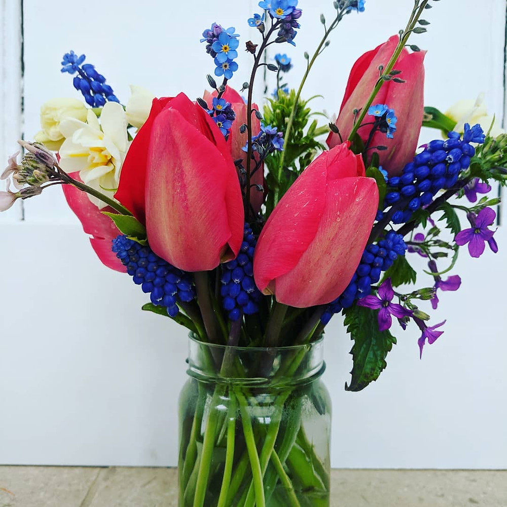 flowers from the patch