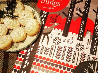 Mince Pies and Magazines!