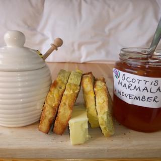 marmalade or honey