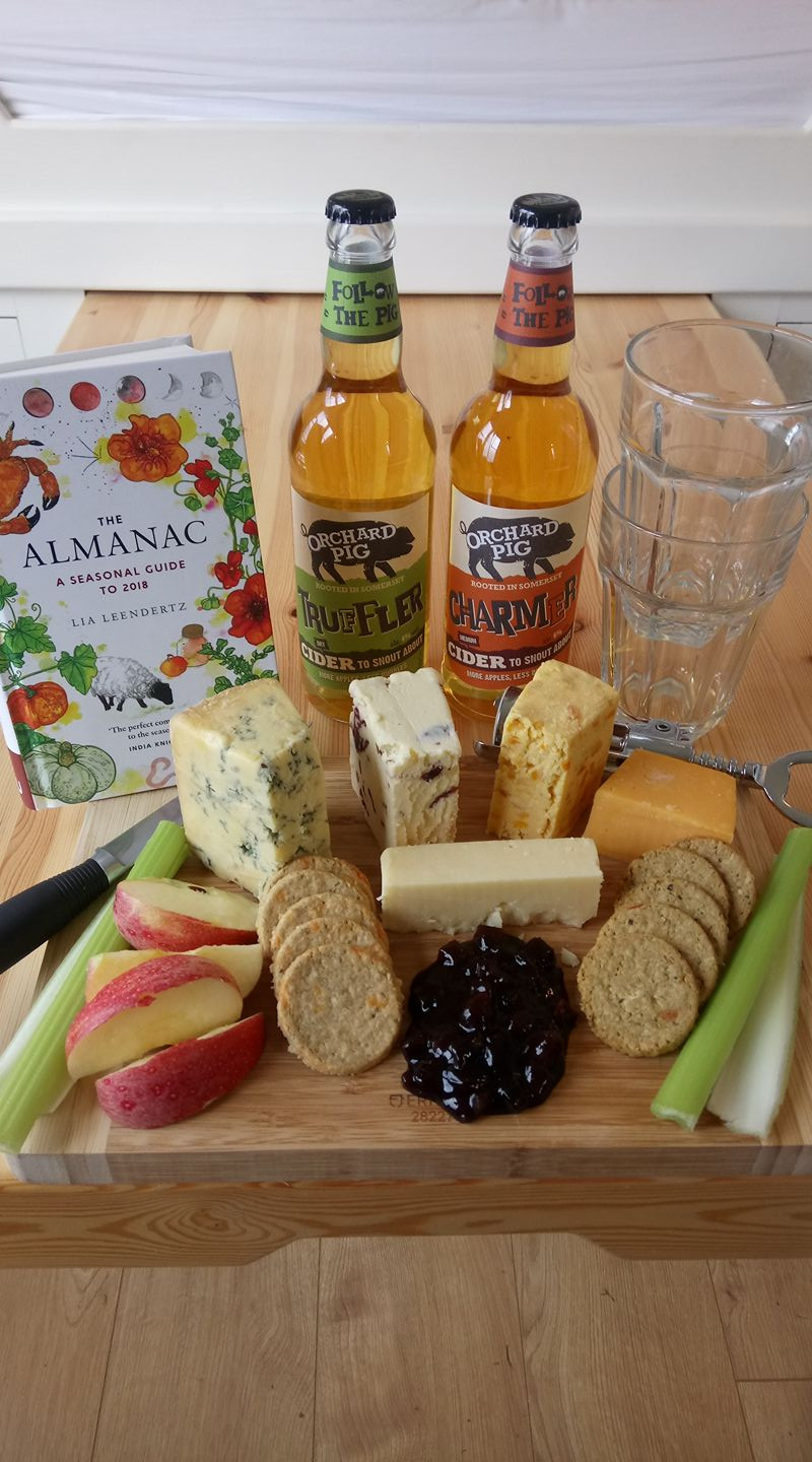 Somerset cider & cheese consumption