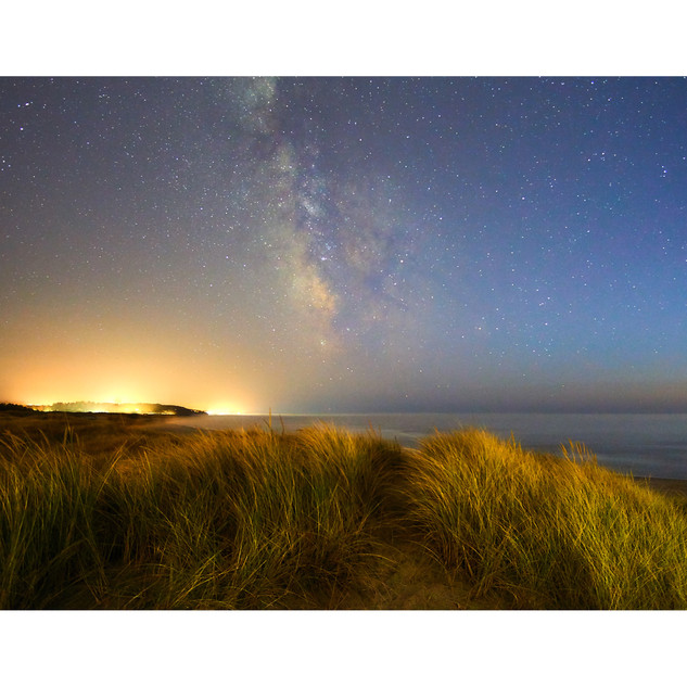 Coastal glow, South Beach State Park, OR