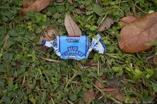Parade leftover - blue raspberry