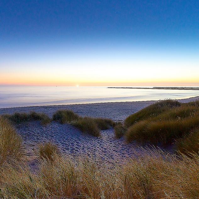 Yacquina Bay twilight