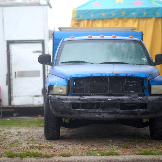 Blue Dodge