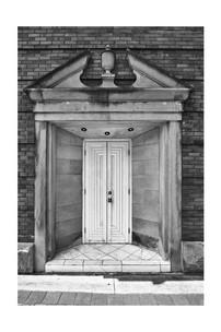 Ryan Street bank door