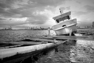 Prien Lake Park boat