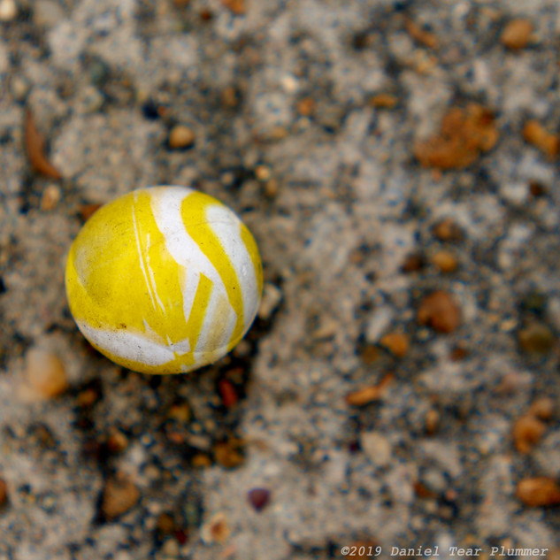 Lost yellow ball