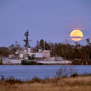 Orleck moonrise January 2021