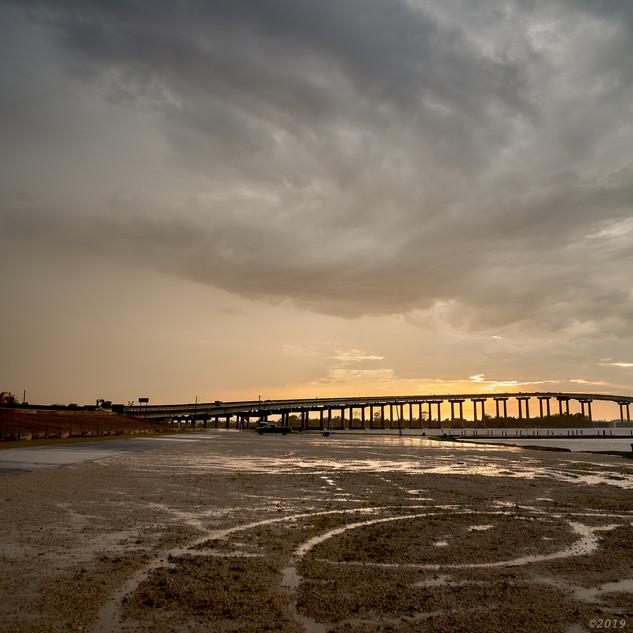 Arcs, I-210 bridge