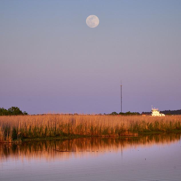 moon over Black Bayou