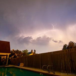 Backyard lightshow