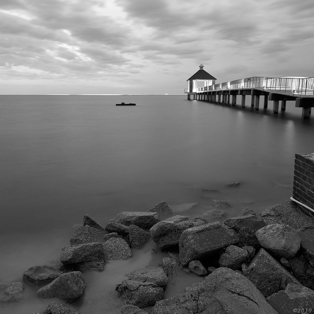 Fontainbleau pier, Lake Ponchartrain