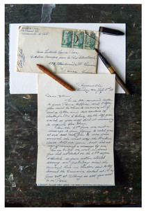 Trudy - letter from Alton 1950