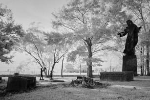 Bilbo Cemetery, IR image