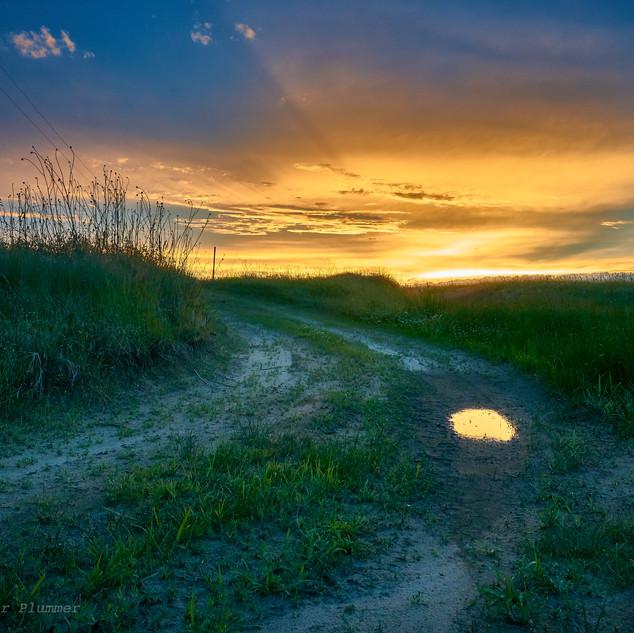Sand Hills sunset