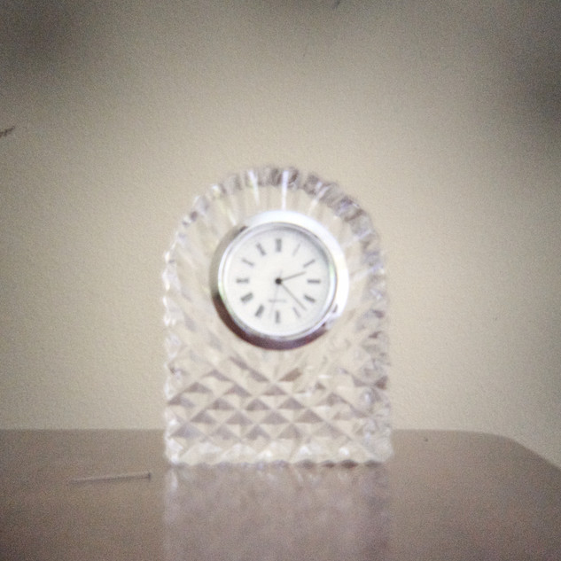 trinket clock, not working