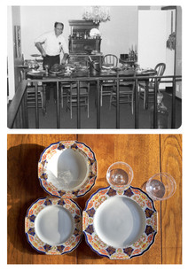 Arn - carving and tableware ca. 1978