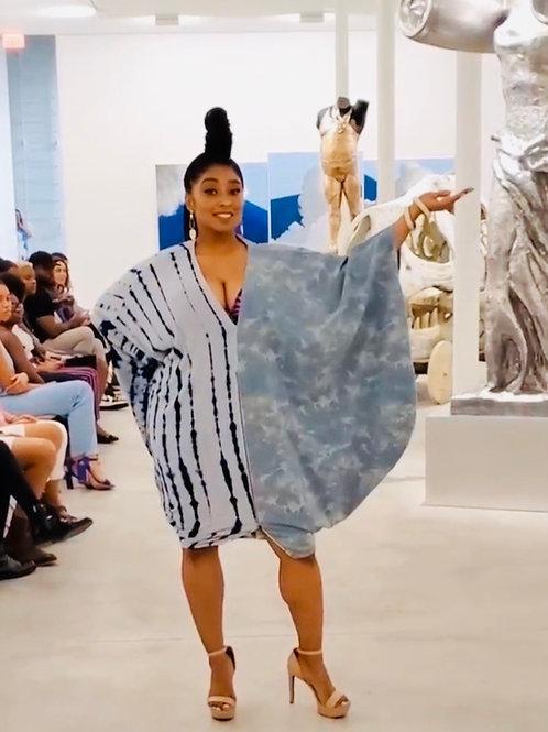 Denim Butterfly Dress