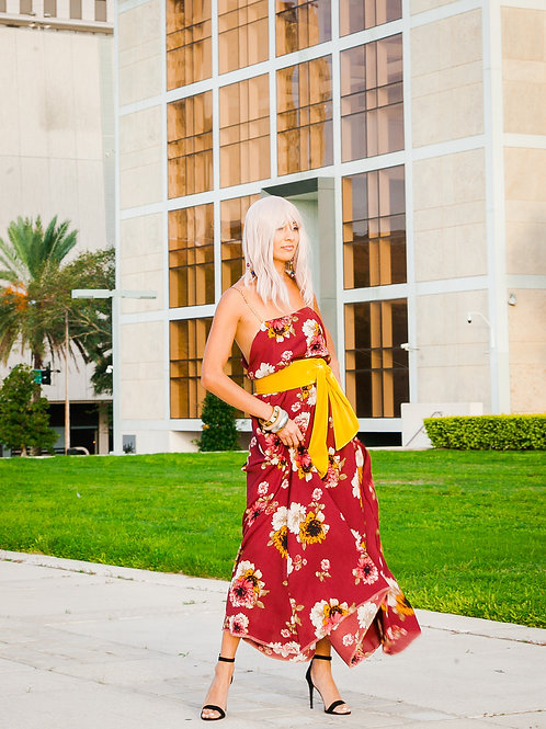 ECR Floral Sun Dress