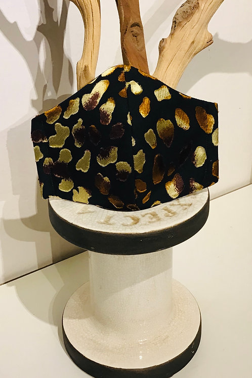 Burn-out Leopard print Mask