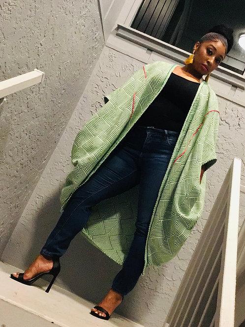 Kimono Sweater Fly Jacket