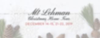 Mt Lehman Christmas Home Tour - FB Banne