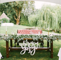 Stunning backdrops and head table ideas