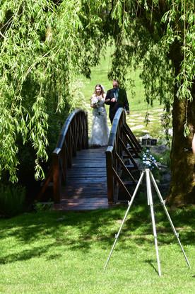 Live streaming intimate wedding
