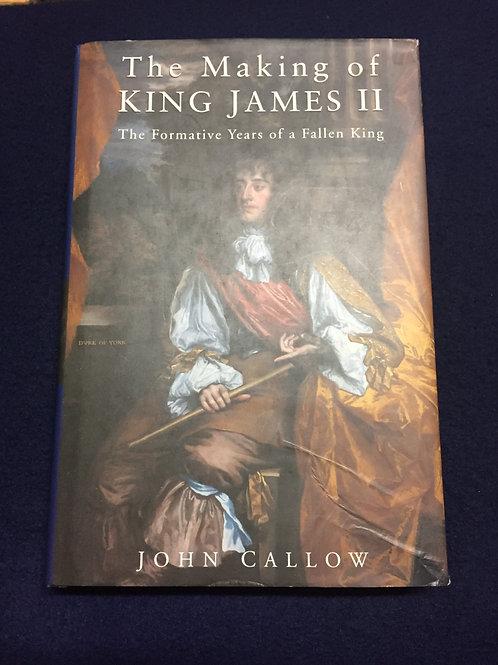 King James II by John Callow