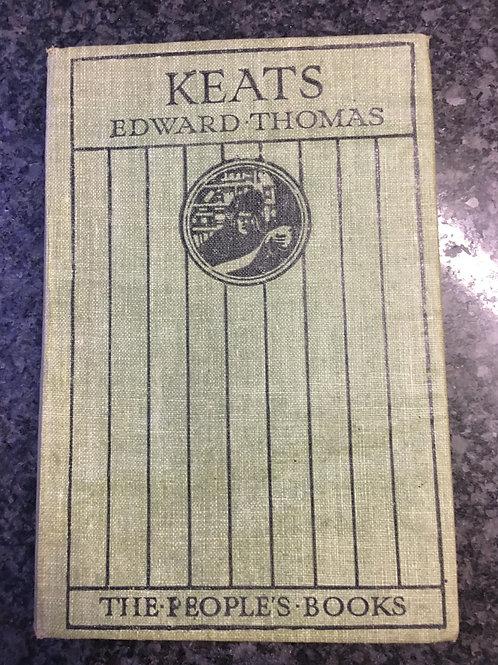 Keats by Edward Thomas