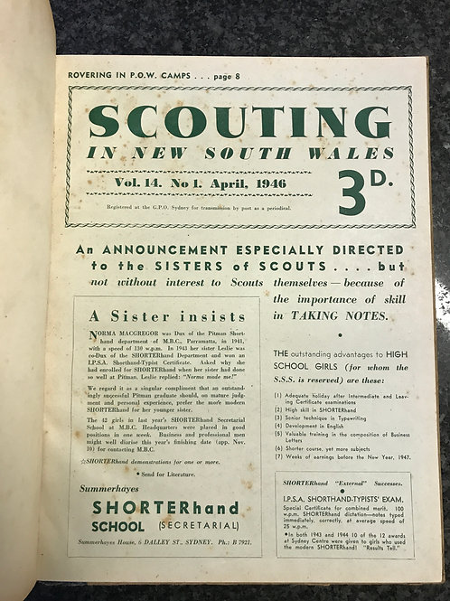 Scouting in New South Wales 1946