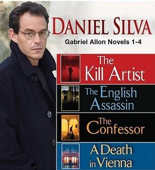 Daniel Silva and his books.