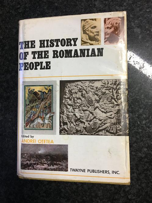 The History of the Romanian People ed. Andrei Otetea