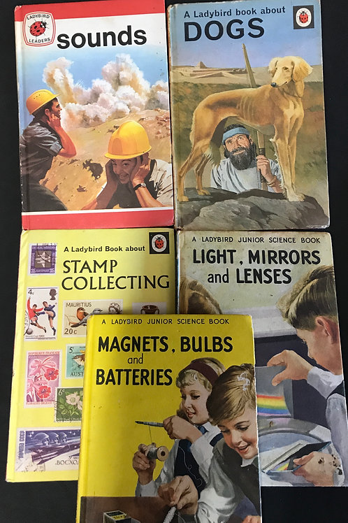 Various Vintage Ladybird Books - Non-Fiction