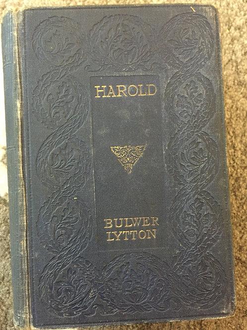 Harold by Bulwer Lytton