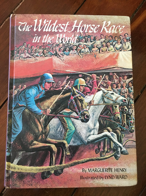 The Wildest Horse Race in the World by Marguerite Henry
