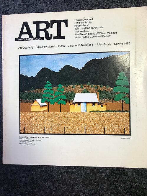 Art & Australia, Spring 1980