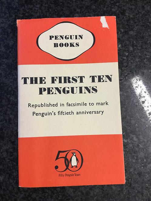 The First Ten Penguins