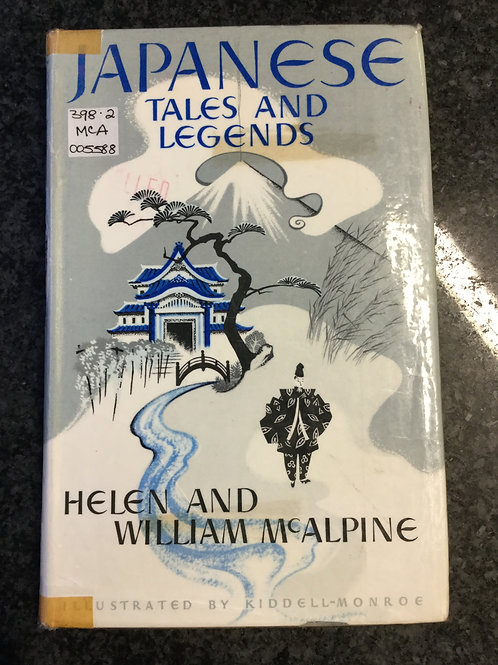 Japanese Tales & Legends by McAlpine
