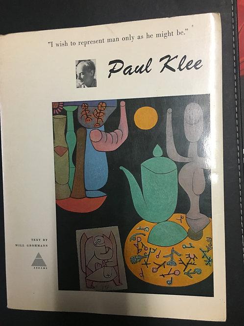 Paul Klee by Will Grohmann