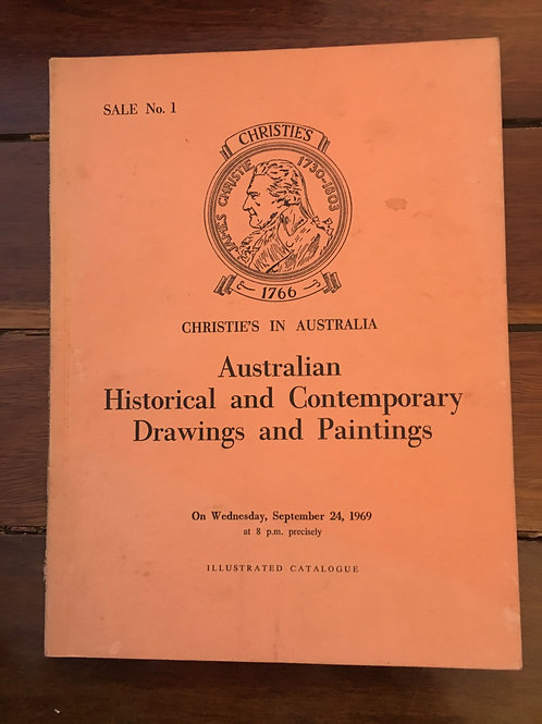 Australian Historical and Contemporary Drawings and Paintings