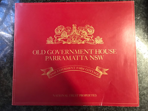 Old Government House Parramatta NSW