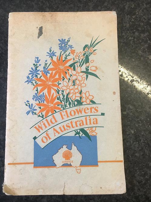 Wild Flowers of Australia by Shell Company of Australia