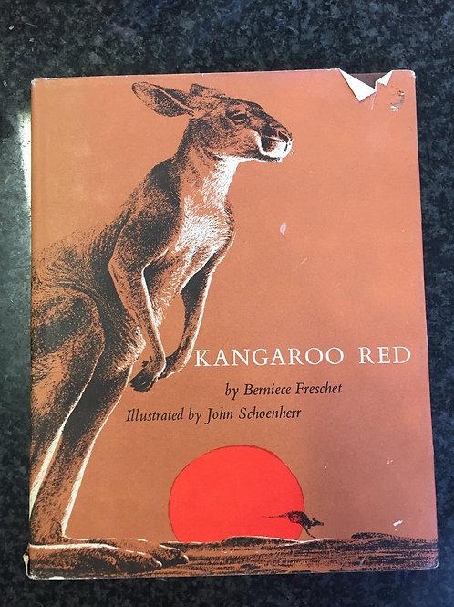 Kangaroo Red by Berniece Freschet