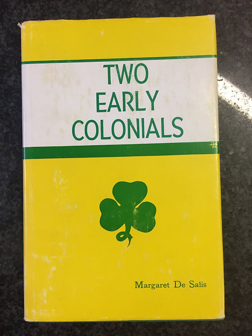 Two Early Colonials by Margaret De Salis